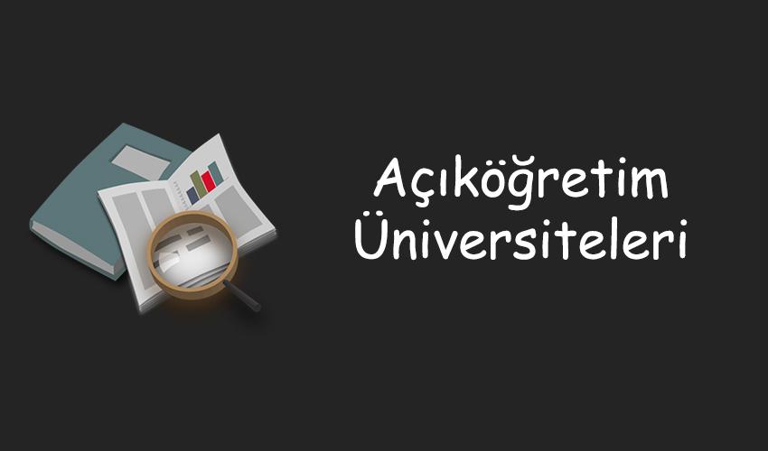 AÖF Üniversiteleri
