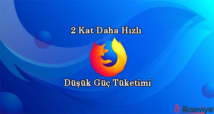 Firefox Quantum Hakkında Bilgiler