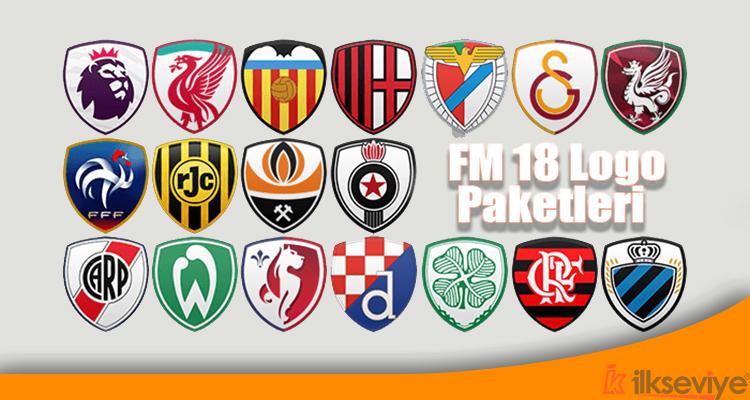 Football Manager 2018 Logo Paketleri