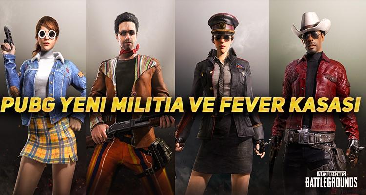 PUBG Yeni Eklenen Militia ve Fever Kasası
