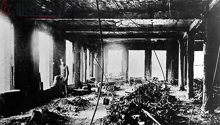 8 Mart Fabrika Yangını