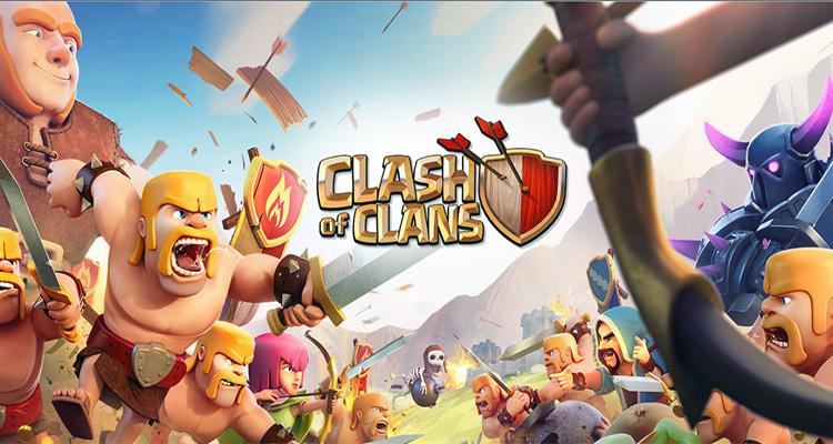 En Çok Oynanan Mobil Strateji Oyunları Clash of Clans