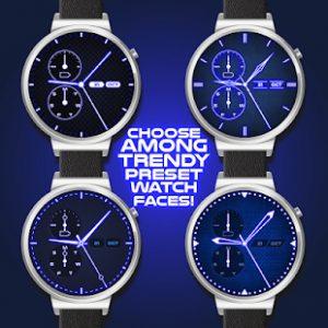 En Güzel Akıllı Saat Temaları- Neon Mavisi