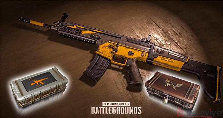 PUBG Silah Skini Kasası