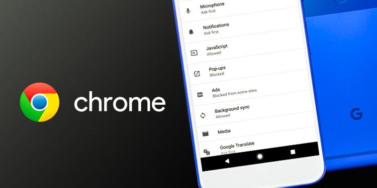 Android Google Chrome Reklam Engelleme