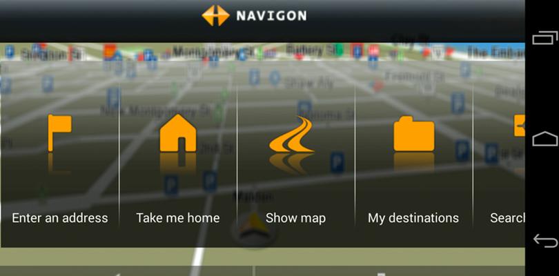 En İyi Navigasyon Uygulamaları Navigon
