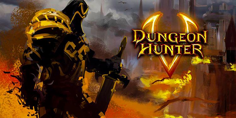 Dungeon Hunter 5 iOs Mmorpg Oyunu
