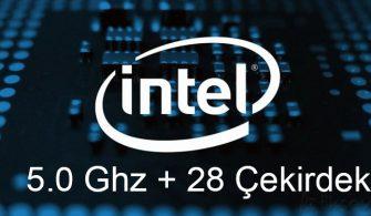 Intel'den 28 Çekirdekli Yeni Nesil İşlemci