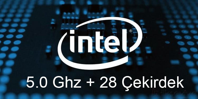 Intel 28 Çekirdekli İşlemci