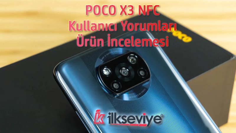 Poco x3 nfc kullananlar