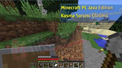 minecraft java edition kasma çözümü