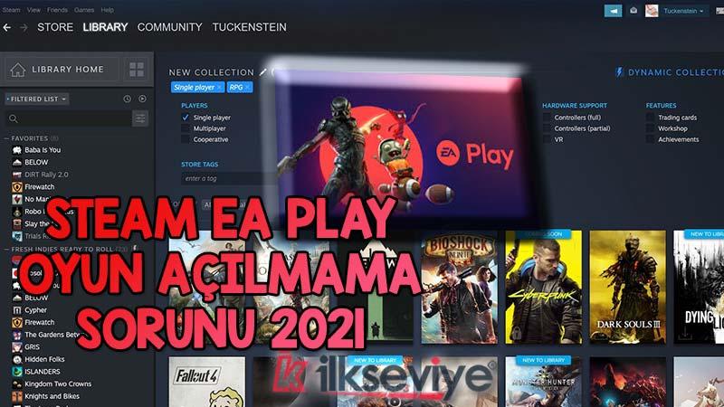 Steam EA Play Açılmıyor