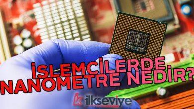 işlemci nanometre nedir